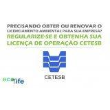 emitir licenciamento ambiental cetesb Jardim das Acácias